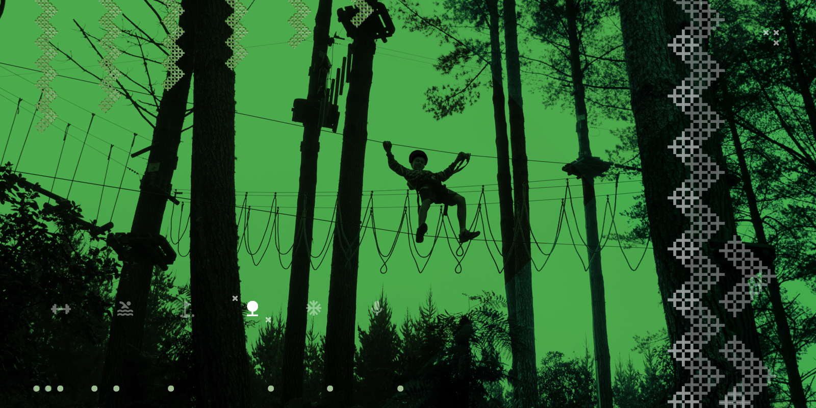 Outdoor Leadership Pathway High Wire
