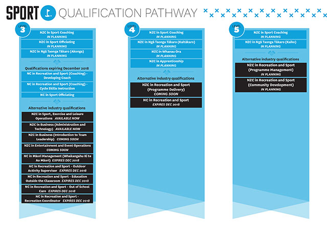 Check out your sport qualification pathway