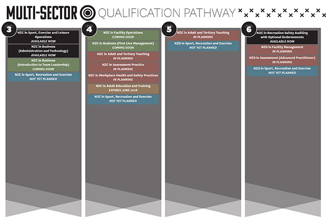 Check out your multi-sector qualification pathway